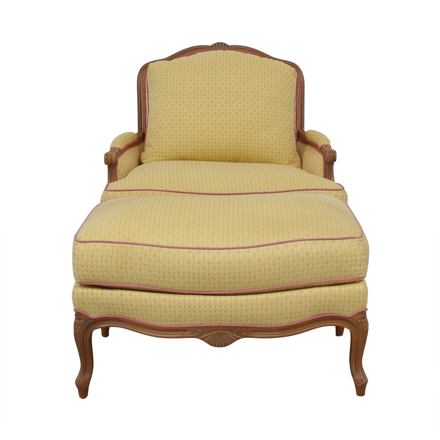 Ashley Manor Chair with Ottoman / Chairs