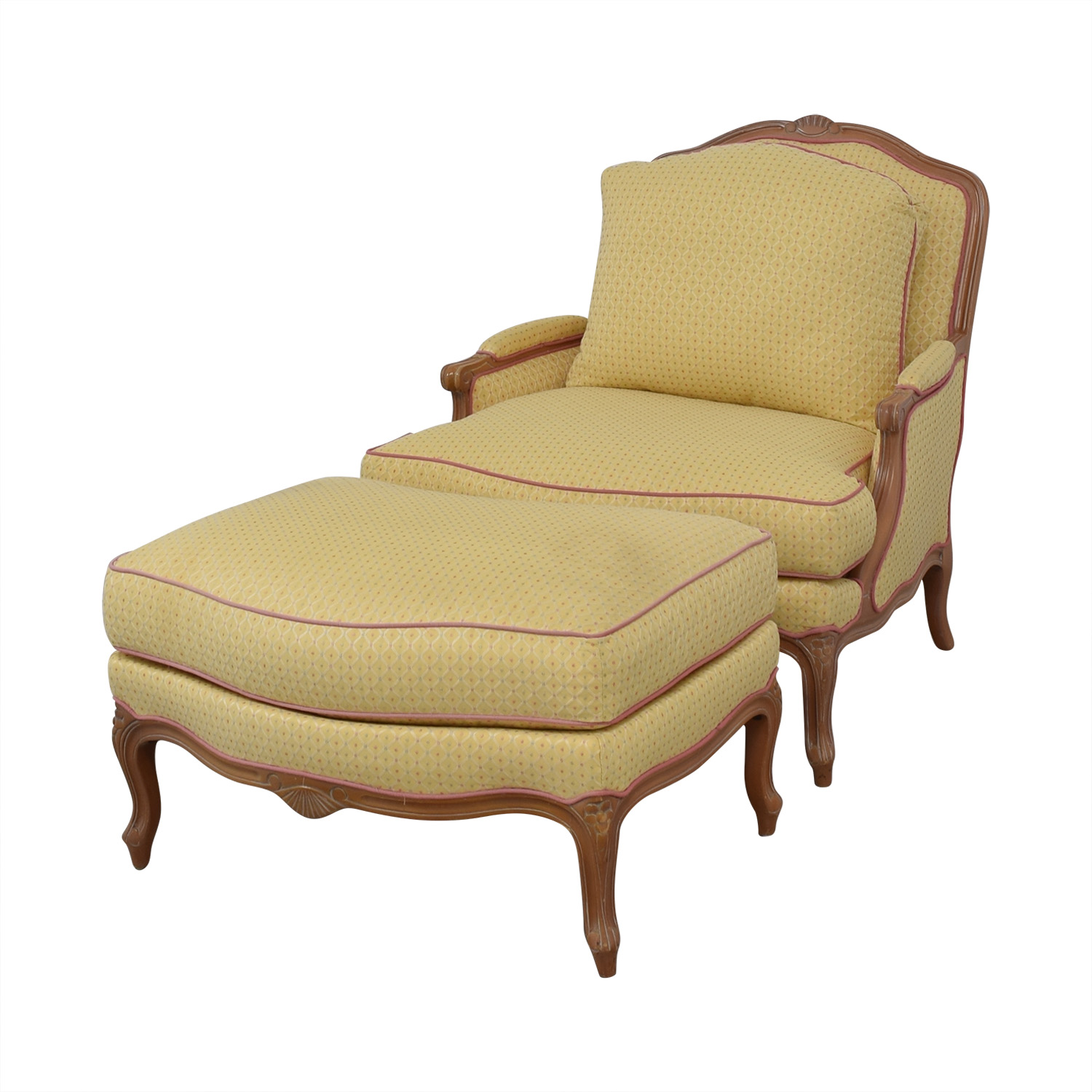 Ashley Manor Ashley Manor Chair with Ottoman dimensions