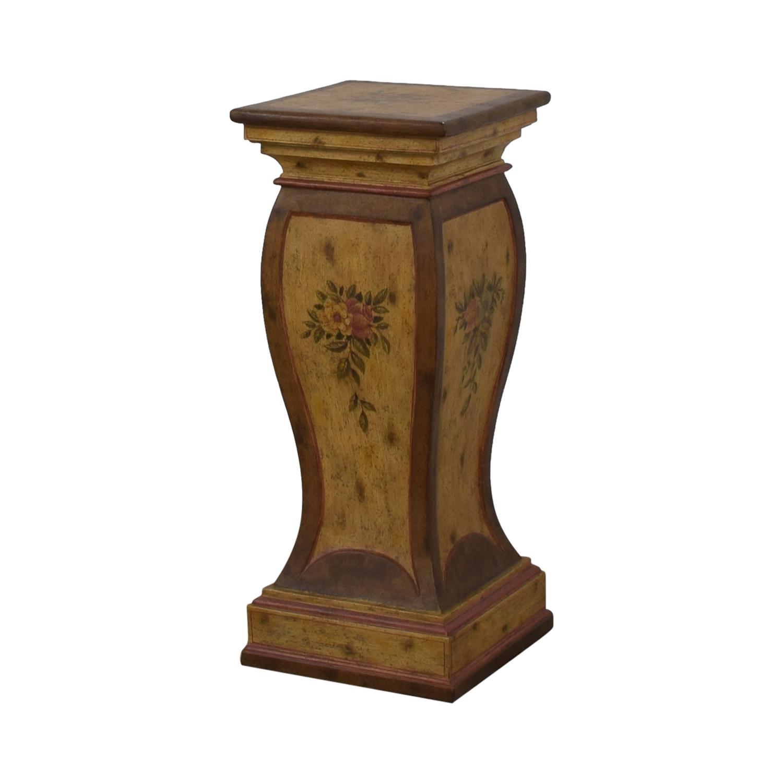 Floral Pedestal for sale