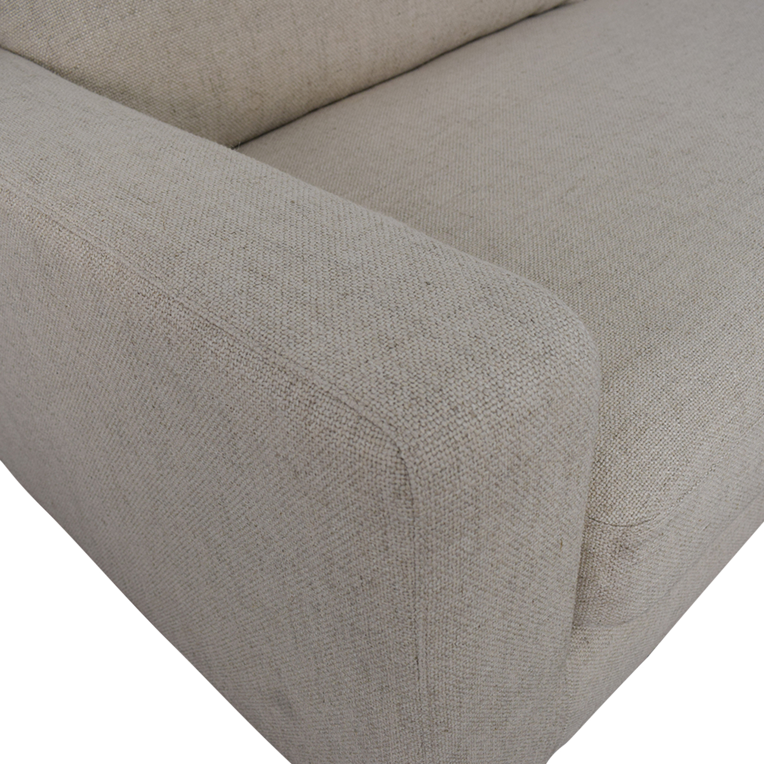 buy Sloan Beige Right Arm Chaise Sectional Interior Define