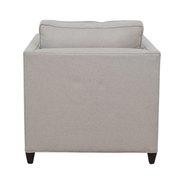 Crate & Barrel Crate & Barrel Dryden Grey Accent Chair