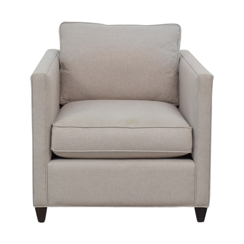 Shop Crate U0026 Barrel Crate U0026 Barrel Dryden Grey Accent Chair Online