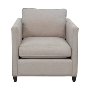 Crate & Barrel Crate & Barrel Dryden Grey Accent Chair price