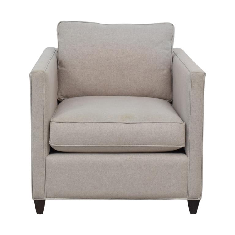 Crate & Barrel Crate & Barrel Dryden Grey Accent Chair nyc