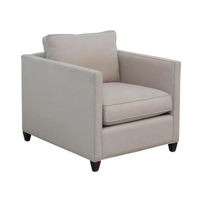 shop Crate & Barrel Crate & Barrel Dryden Grey Accent Chair online