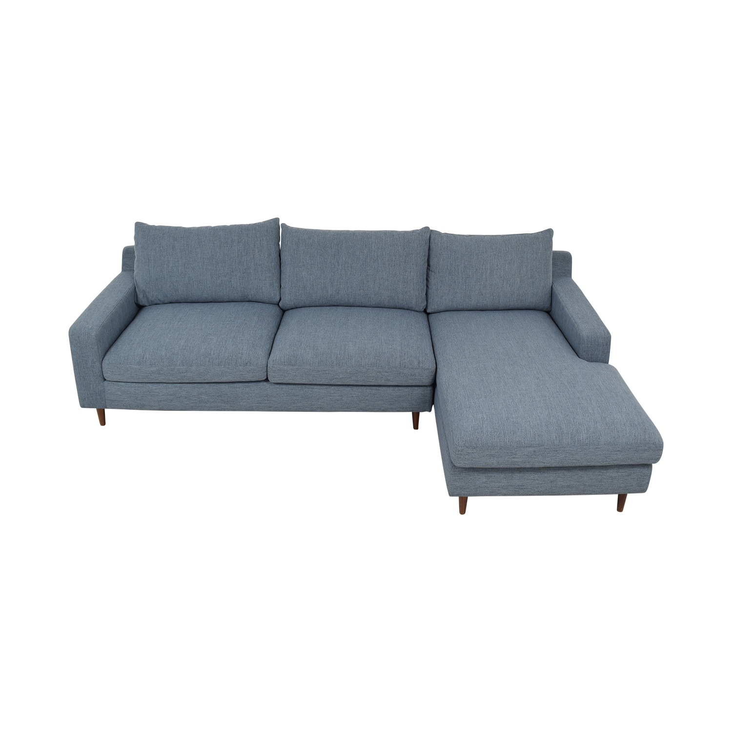 47% OFF - Sloan Left Chaise Sectional Sofa / Sofas