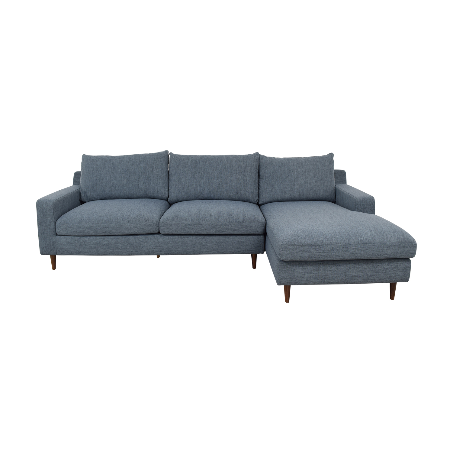 Interior Define Sloan Left Chaise Sectional Sofa
