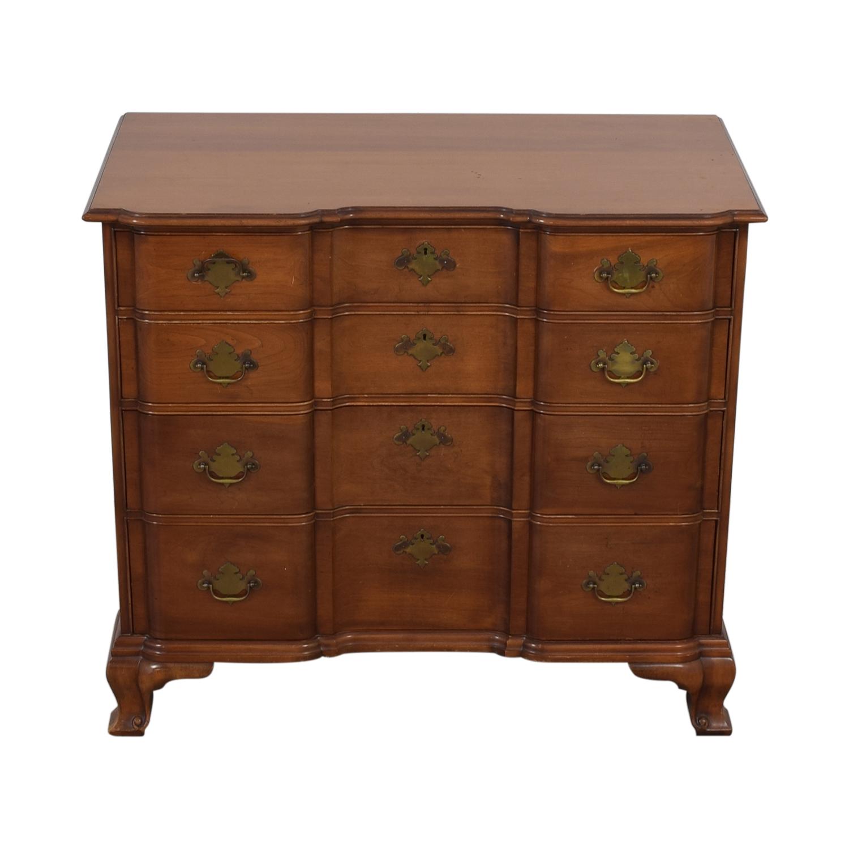 Kindel Kindel Four-Drawer Dresser BROWN
