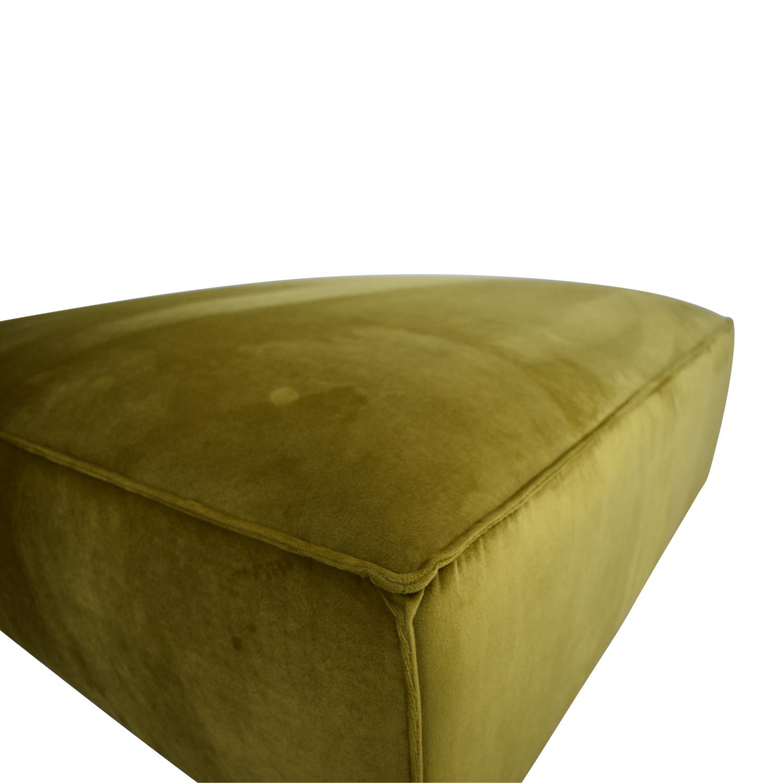 Fabric Ottoman Interior Define