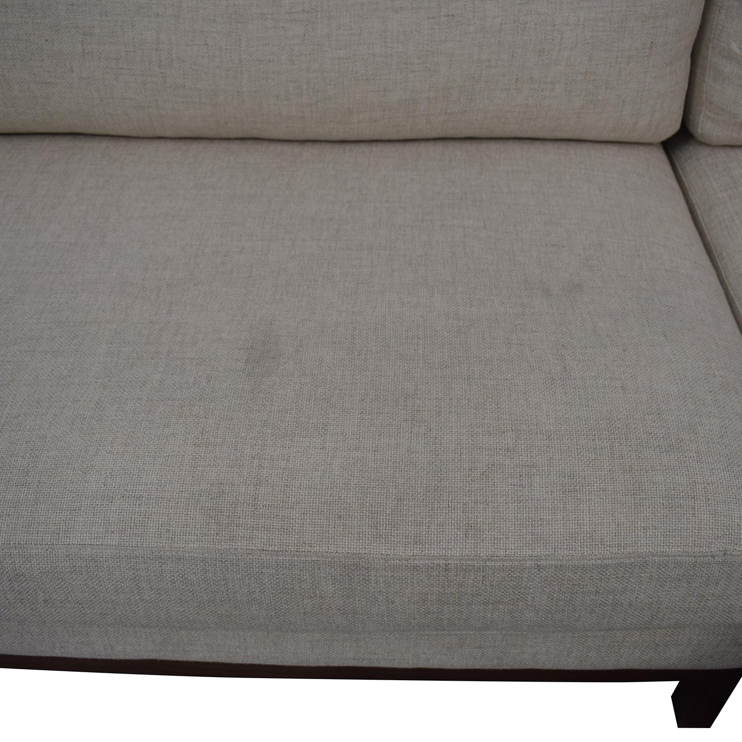 Interior Define Jasper Pebble Weave Right Chaise Sectional on sale