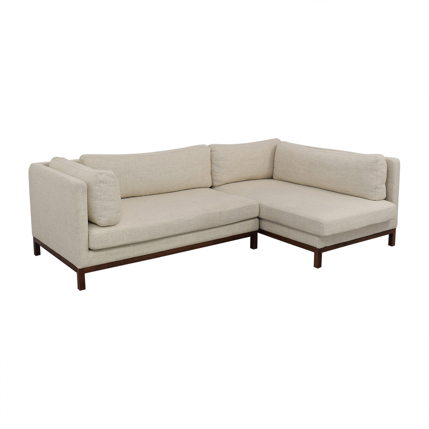 buy Jasper Pebble Weave Right Chaise Sectional Interior Define Sectionals