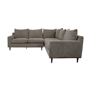 Interior Define Sloan Beige Sectional Sofas