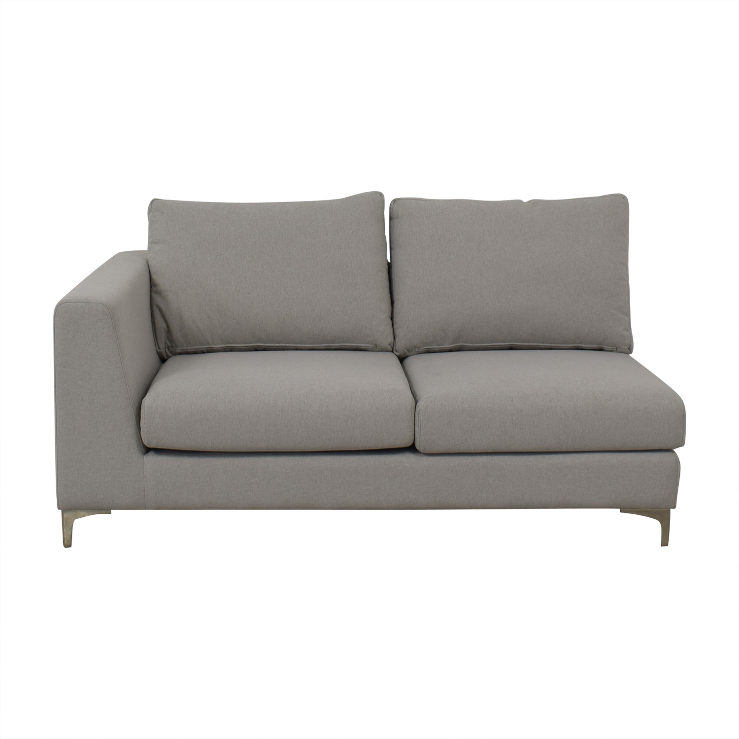 shop Mint Asher Right Extended Chaise Lounge Interior-Define-Hidden Sofas