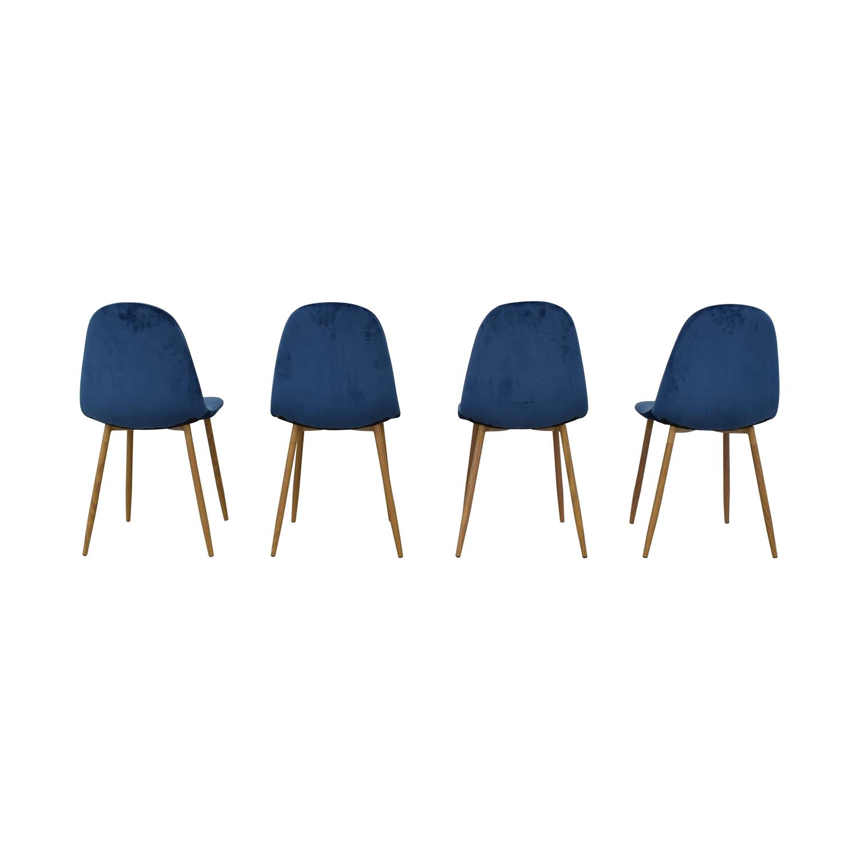 AllModern AllModern Velvet Side Chair Set coupon