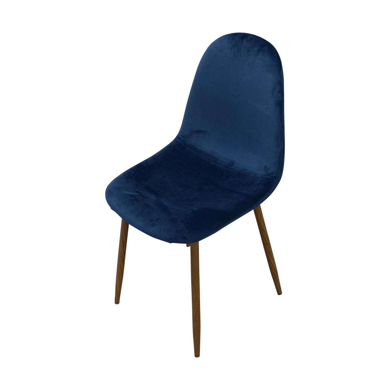 AllModern AllModern Velvet Side Chair Set used