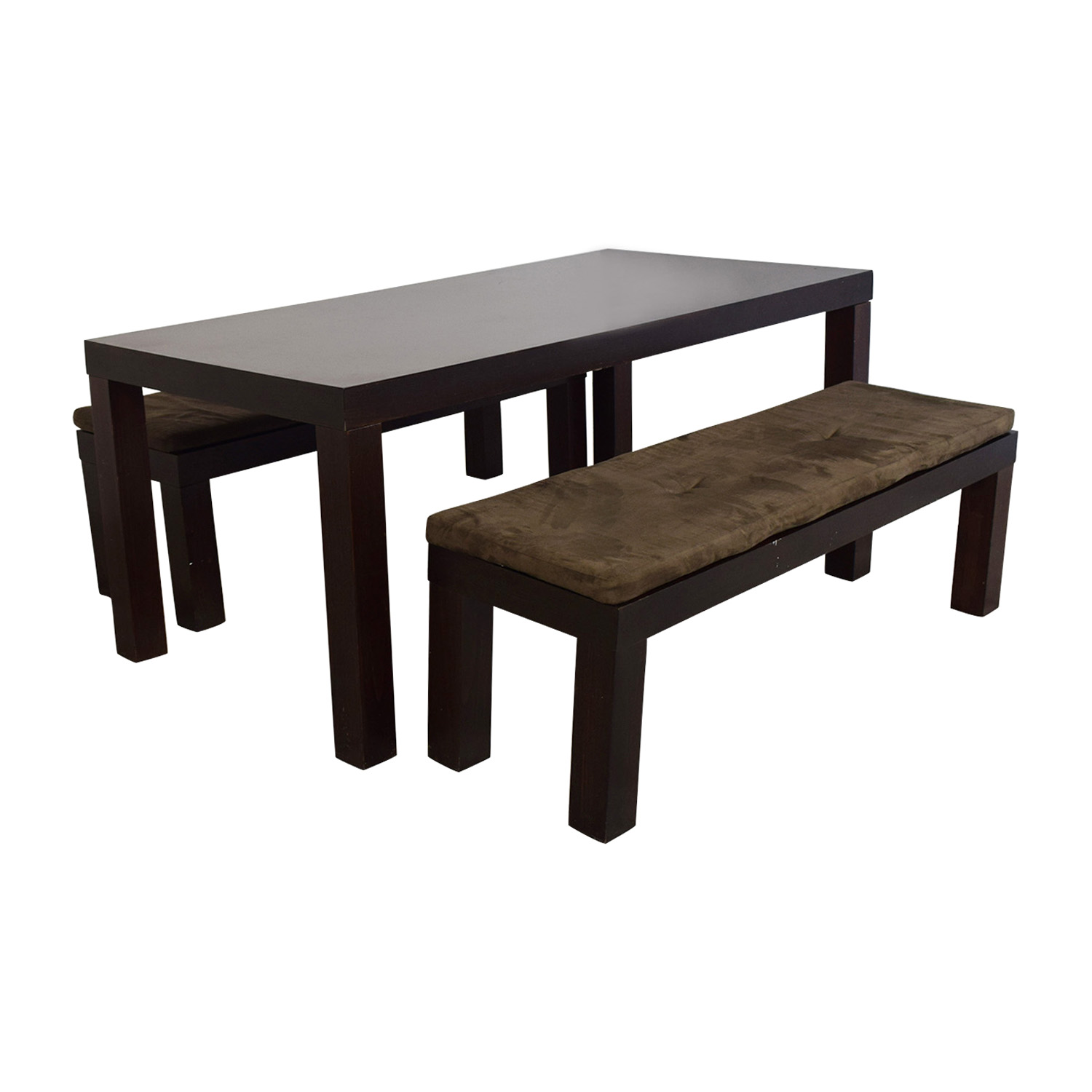 CB2 CB2 Indie Dining Table with Benches Dining Sets
