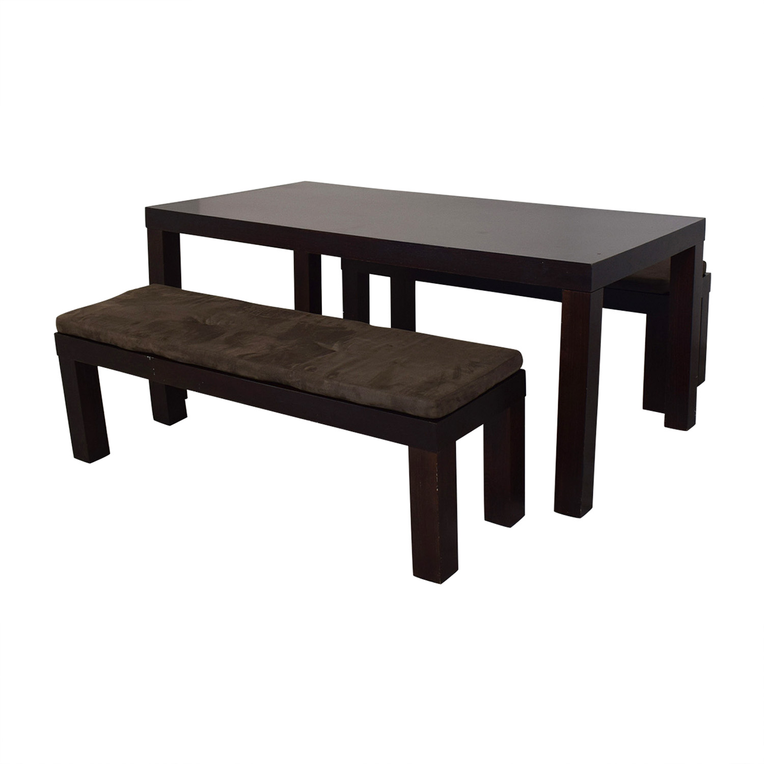 buy CB2 CB2 Indie Dining Table with Benches online