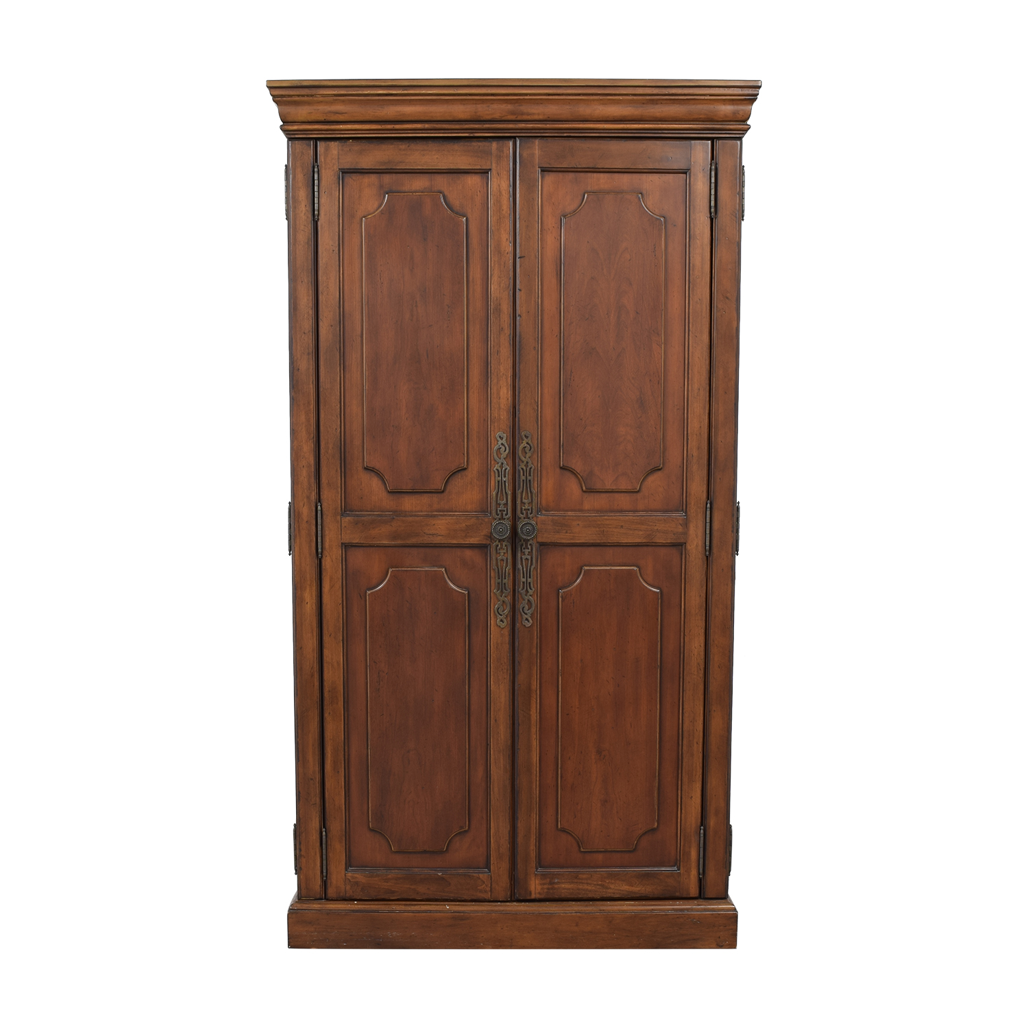 Media Wood Armoire Wardrobes & Armoires
