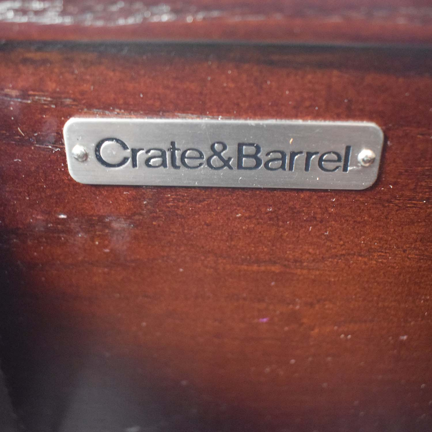 Crate & Barrel Crate & Barrel Addison Storage Bench coupon