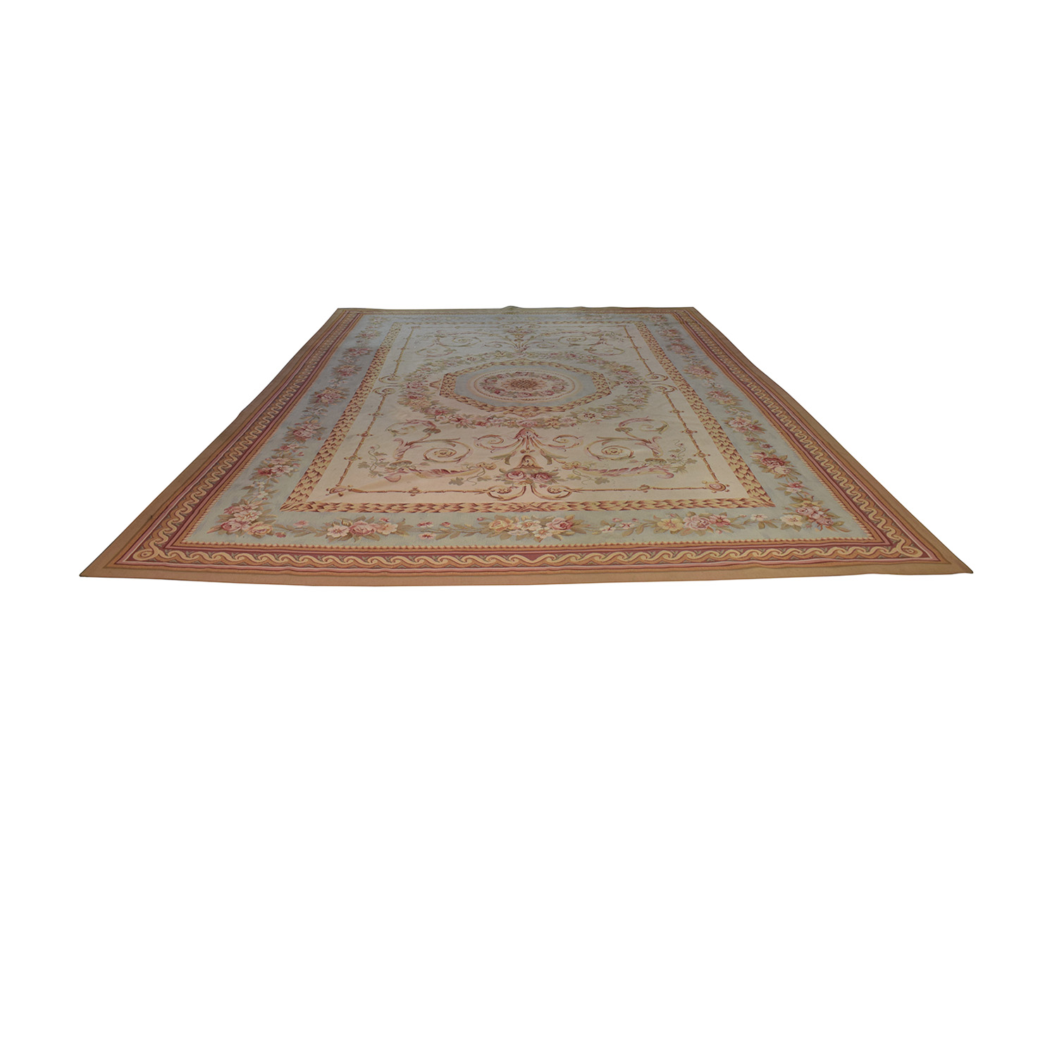 buy Aubusson Multi-Colored Rug  Decor