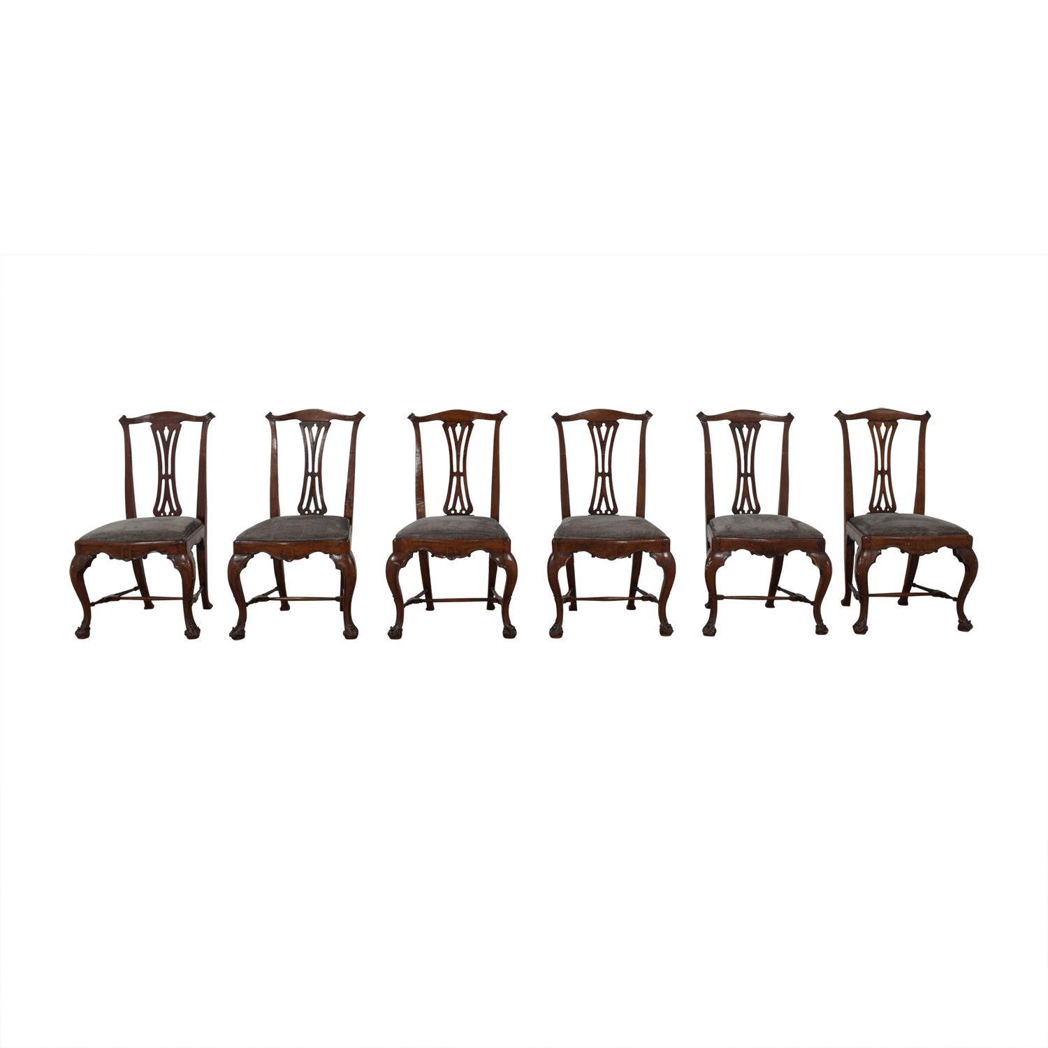 Vintage Dining Chair Set / Chairs