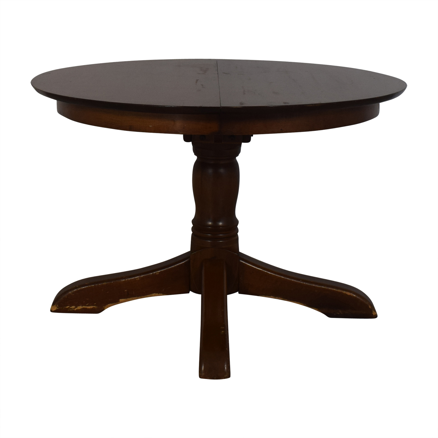 Pottery Barn Extendable Round Dining Table / Dinner Tables