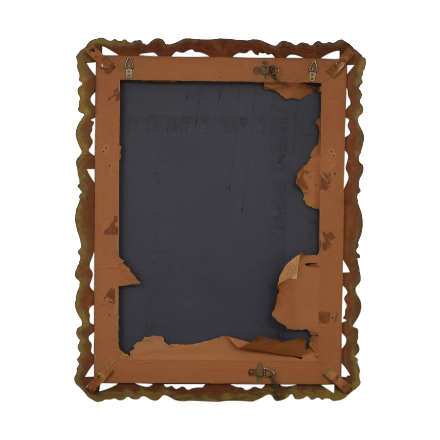buy Distressed Gold Framed Wall Mirror  Mirrors