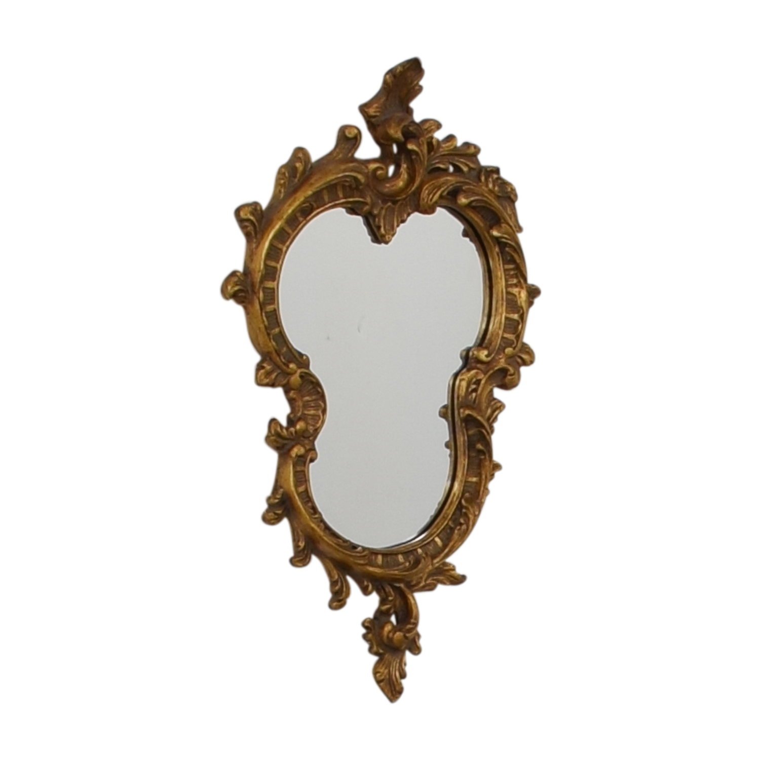 shop  Distressed Gold Framed Wall Mirror online