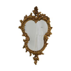 buy  Distressed Gold Framed Wall Mirror online