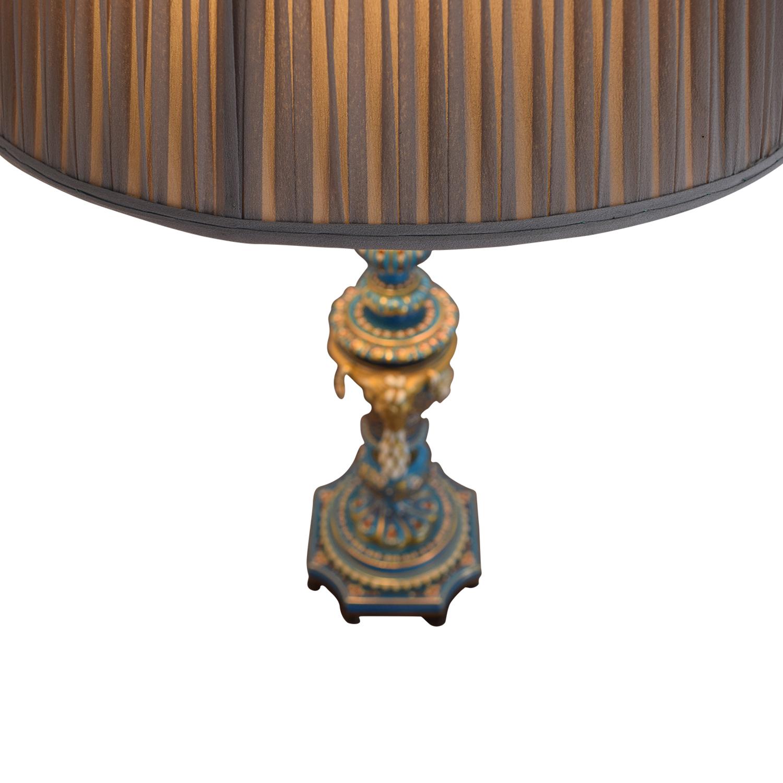 Sevres Bleu Celeste Porcelain Lamp BLUE