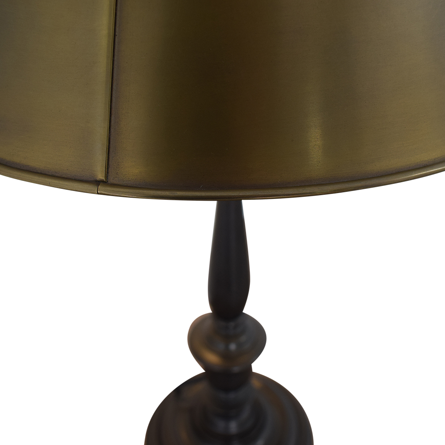 Visual Comfort Visual Comfort New York Public Library Table Lamp in Bronze with Antique Brass Shade brass
