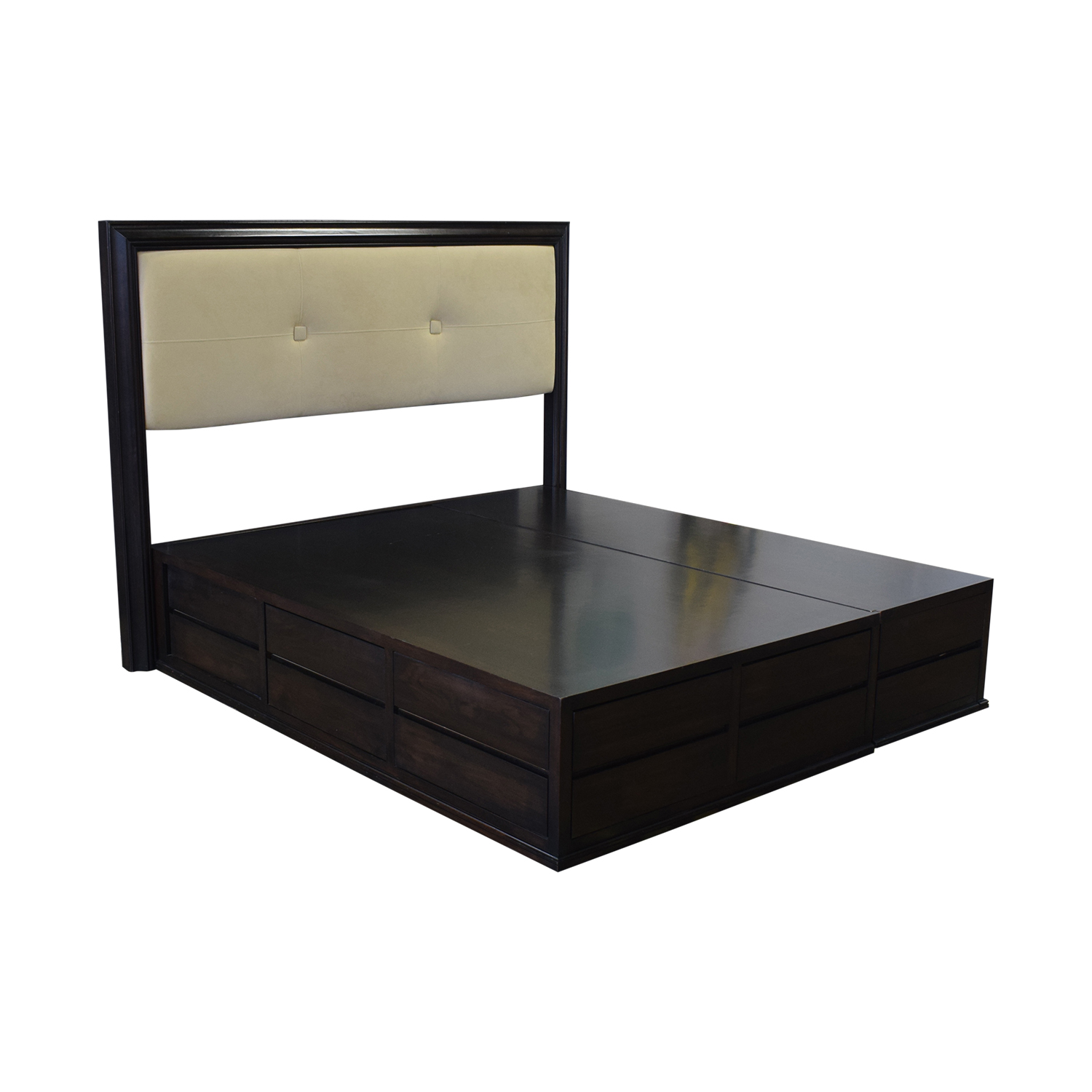 buy Couture Design Cal King Platform Storage Bed  Beds