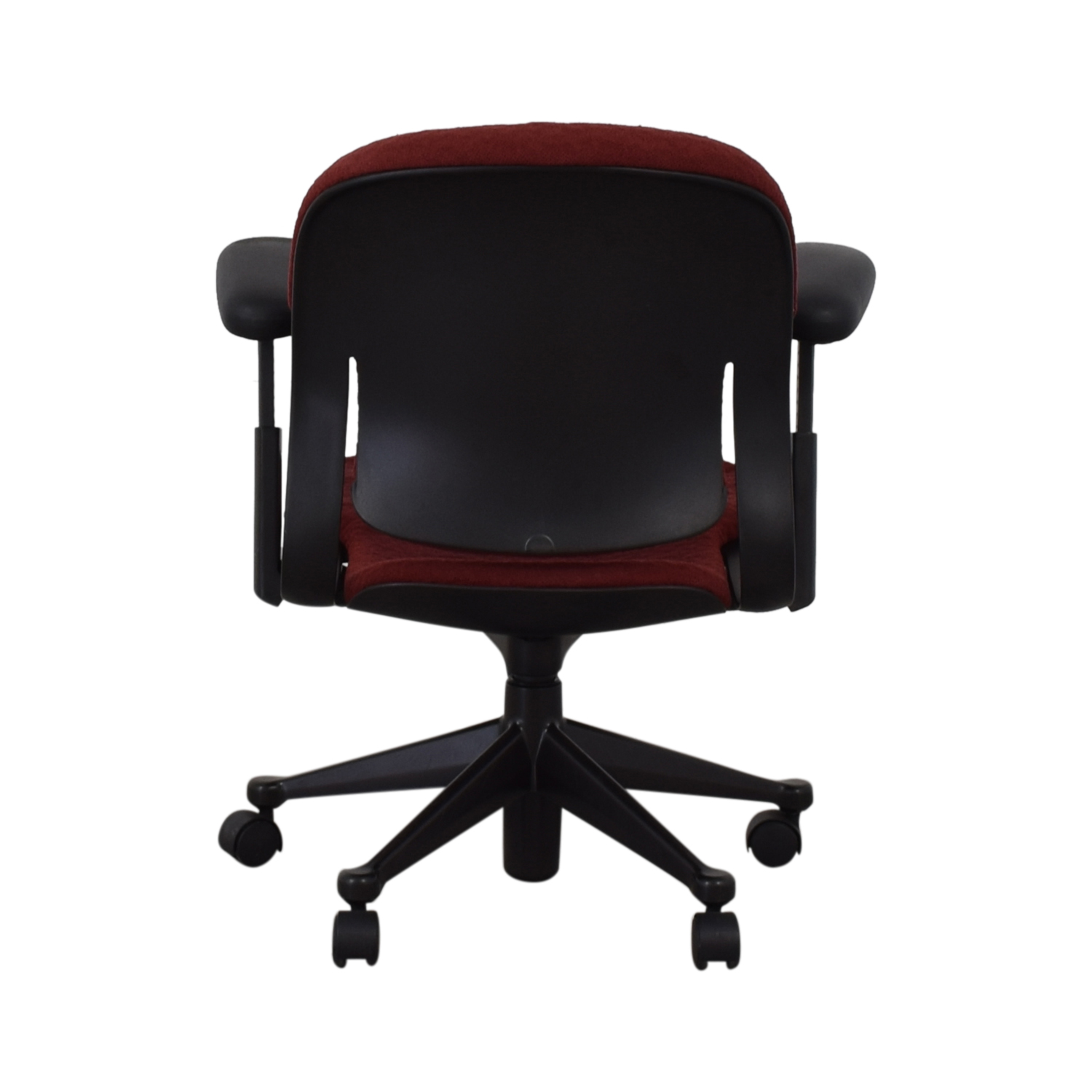 Red Office Arm Chair sale
