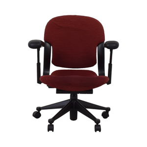 Red Office Arm Chair nj