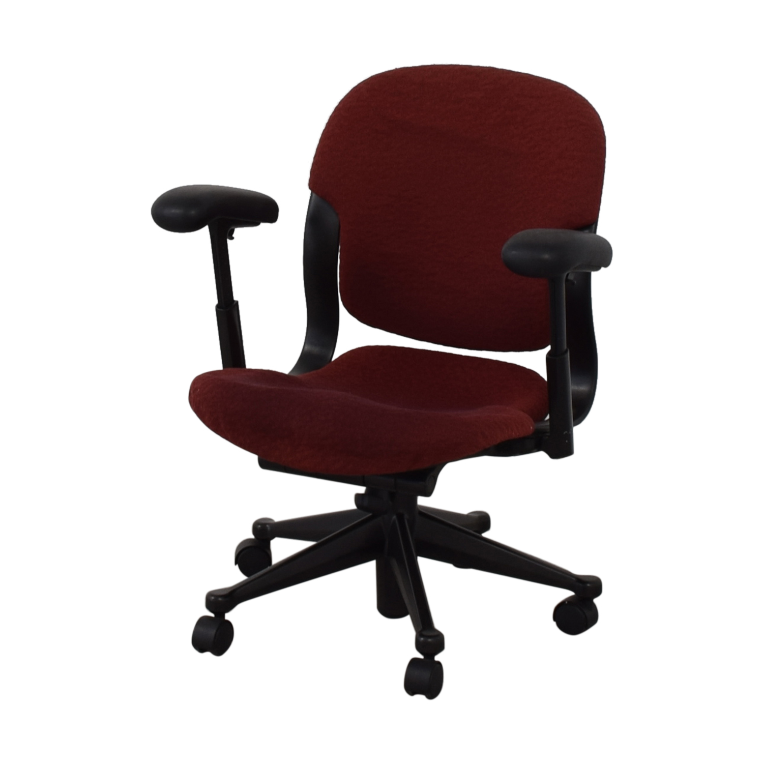 Red Office Arm Chair discount