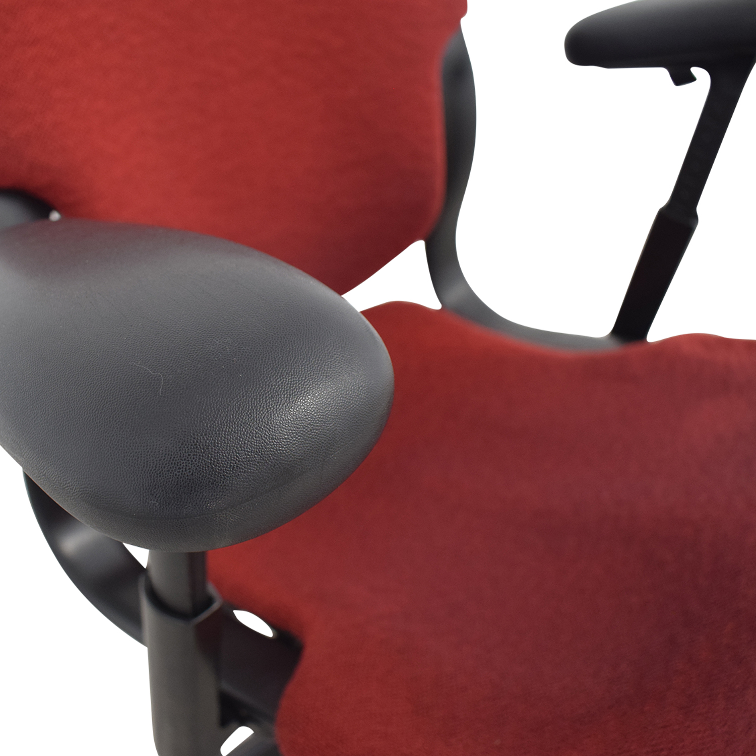Red Office Arm Chair used