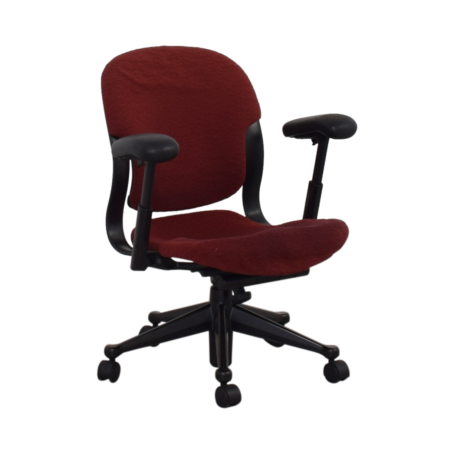 Red Office Arm Chair on sale