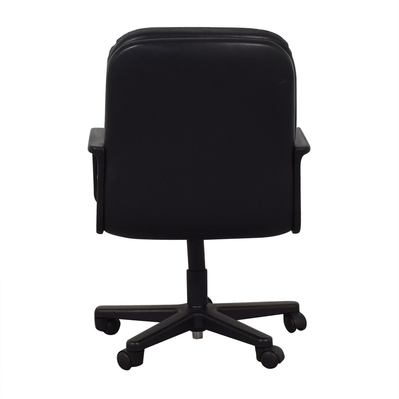 shop Black Office Arm Chair
