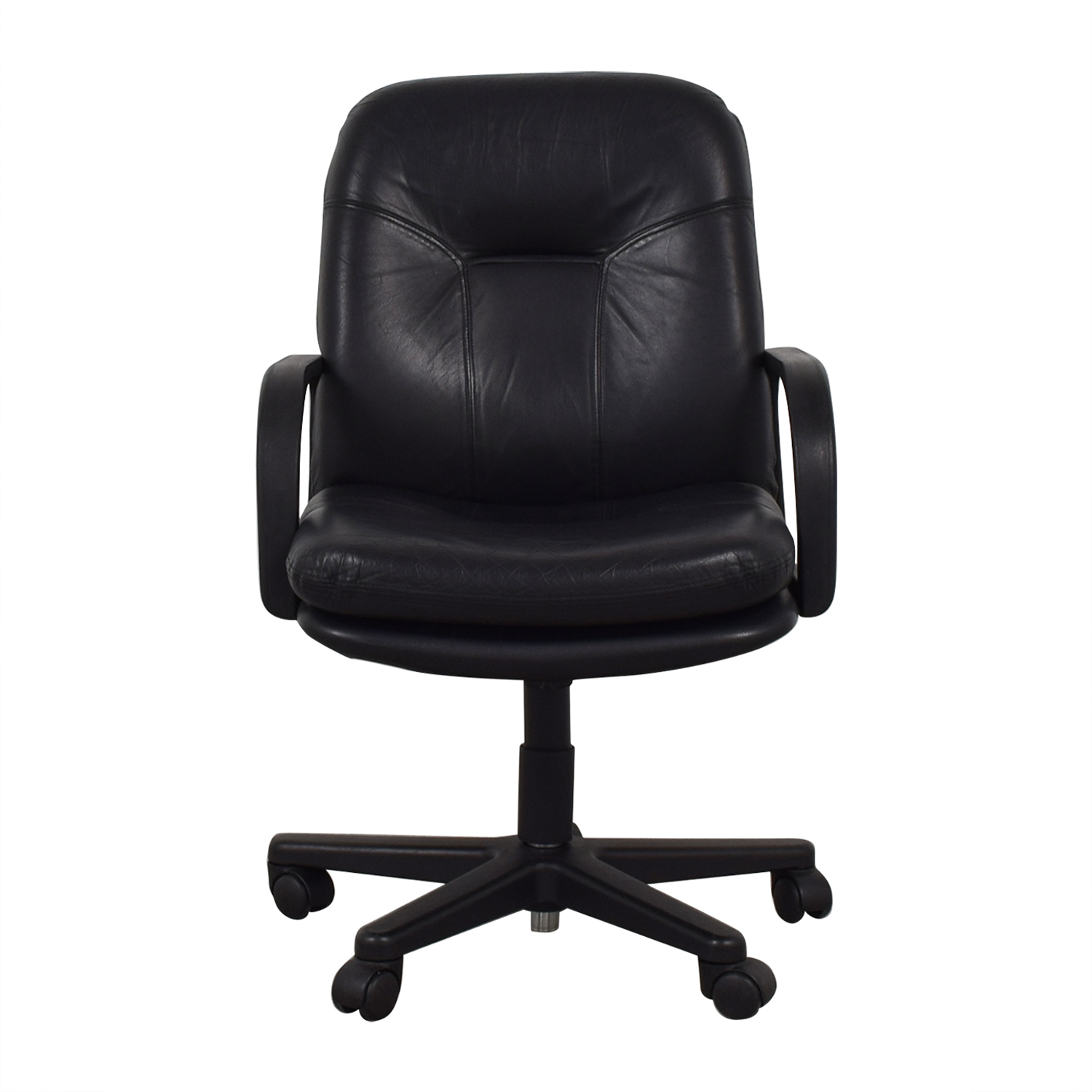 Black Office Arm Chair Home Office Chairs