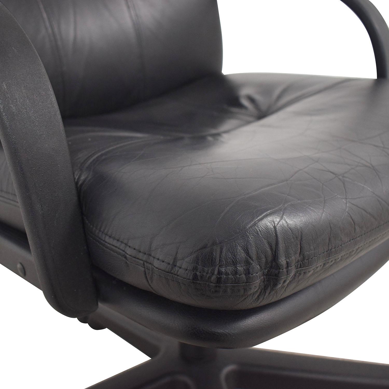 Black Office Arm Chair nj