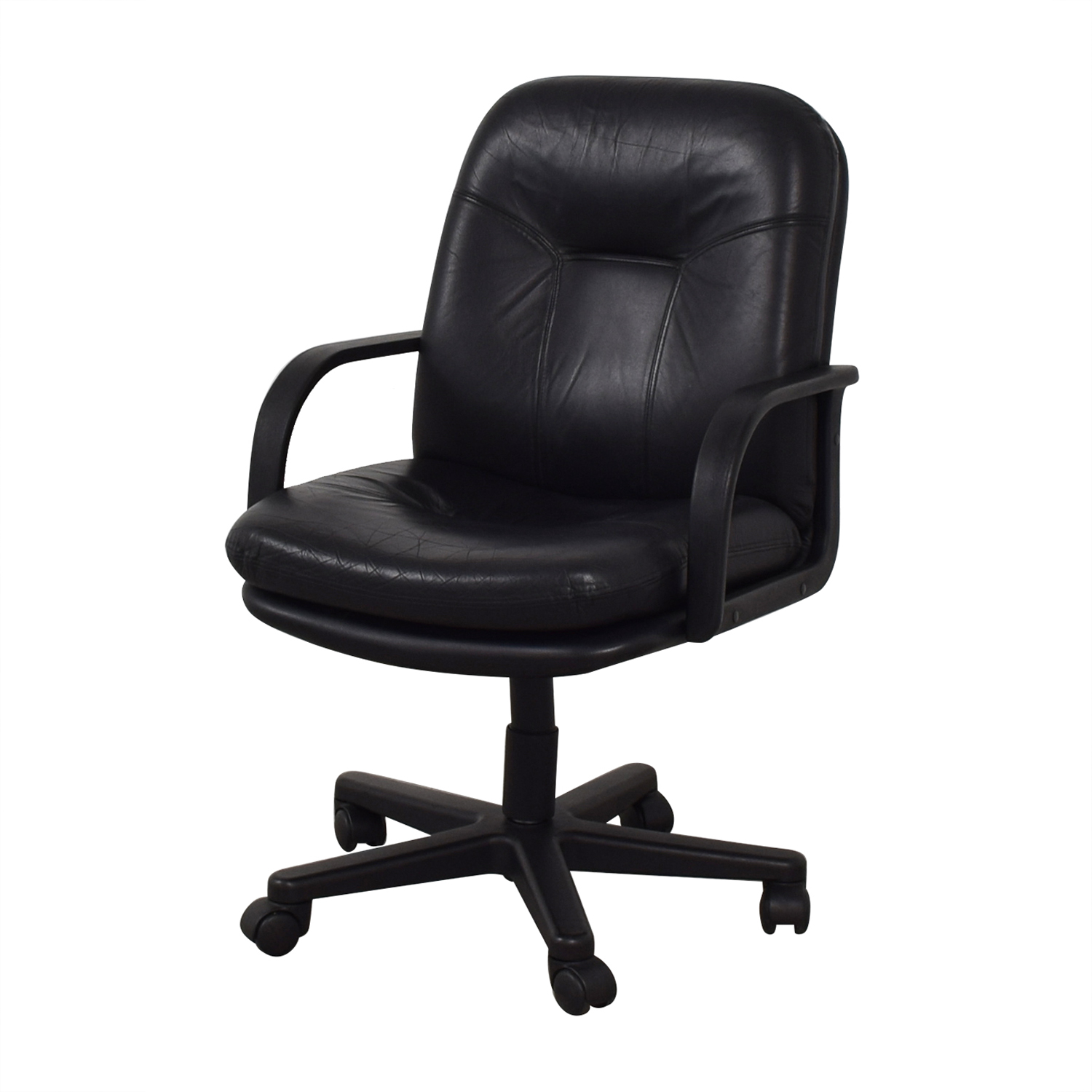 buy Black Office Arm Chair  Chairs