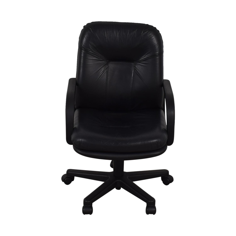 Black Office Arm Chair price