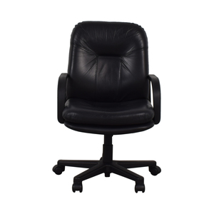 Black Office Arm Chair coupon