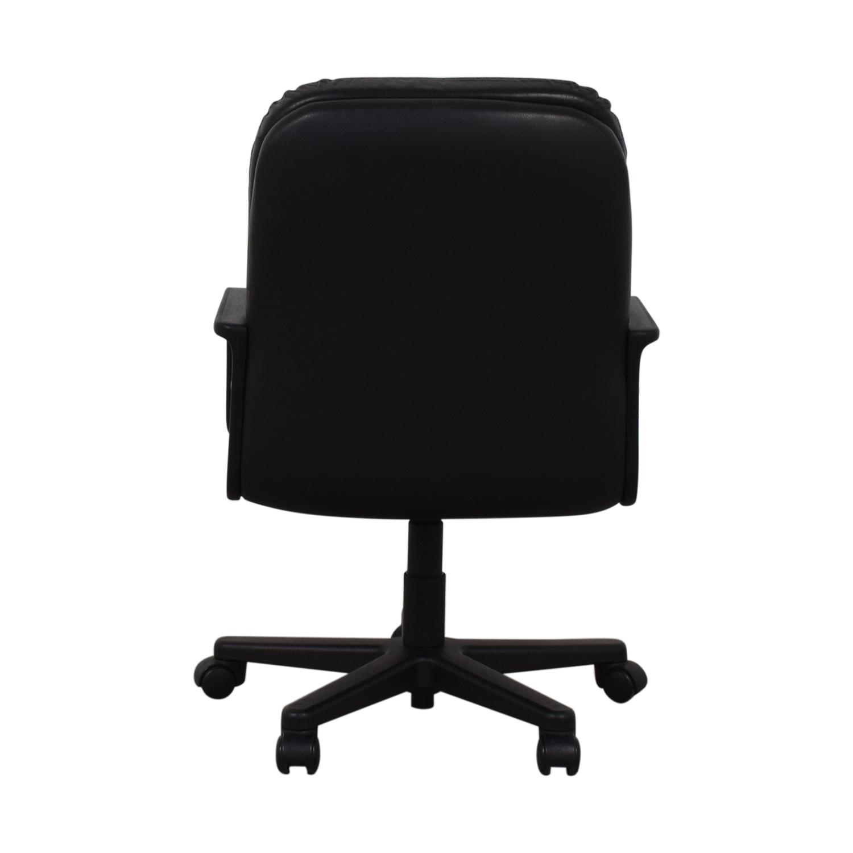 Black Office Arm Chair