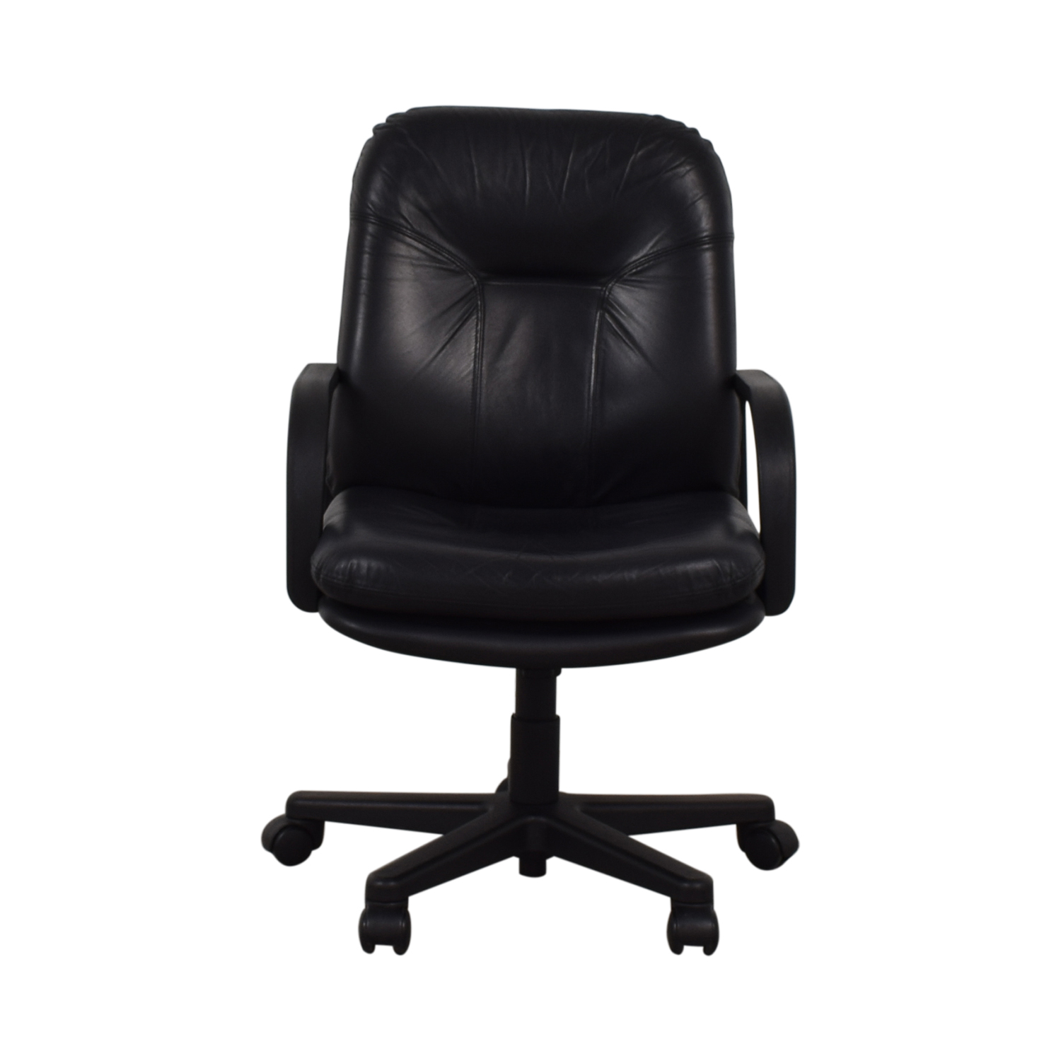 Black Office Arm Chair black