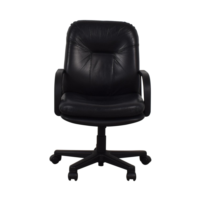 Black Office Arm Chair black
