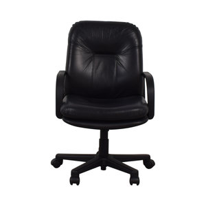 Black Office Arm Chair used