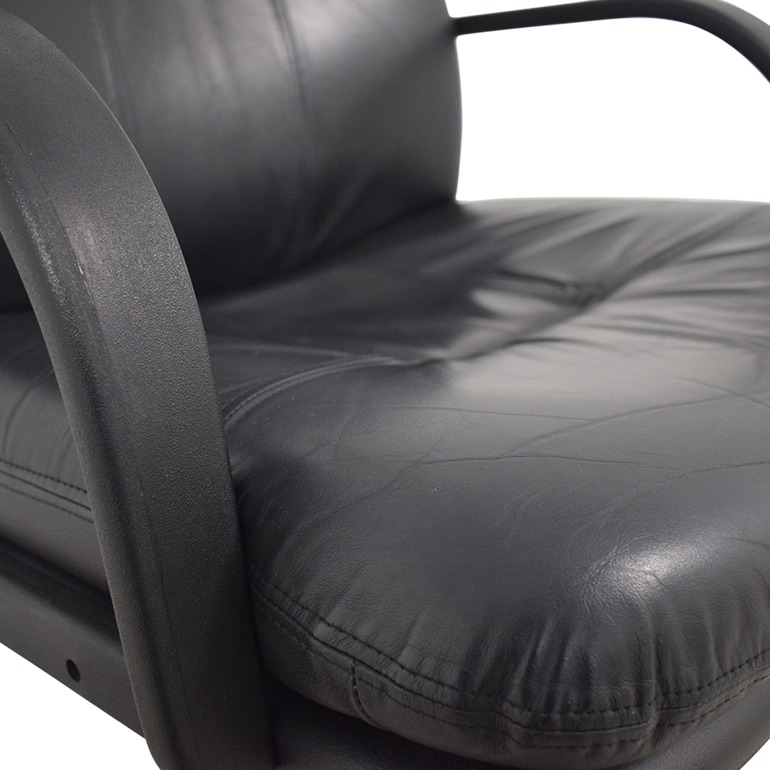 Black Office Arm Chair second hand