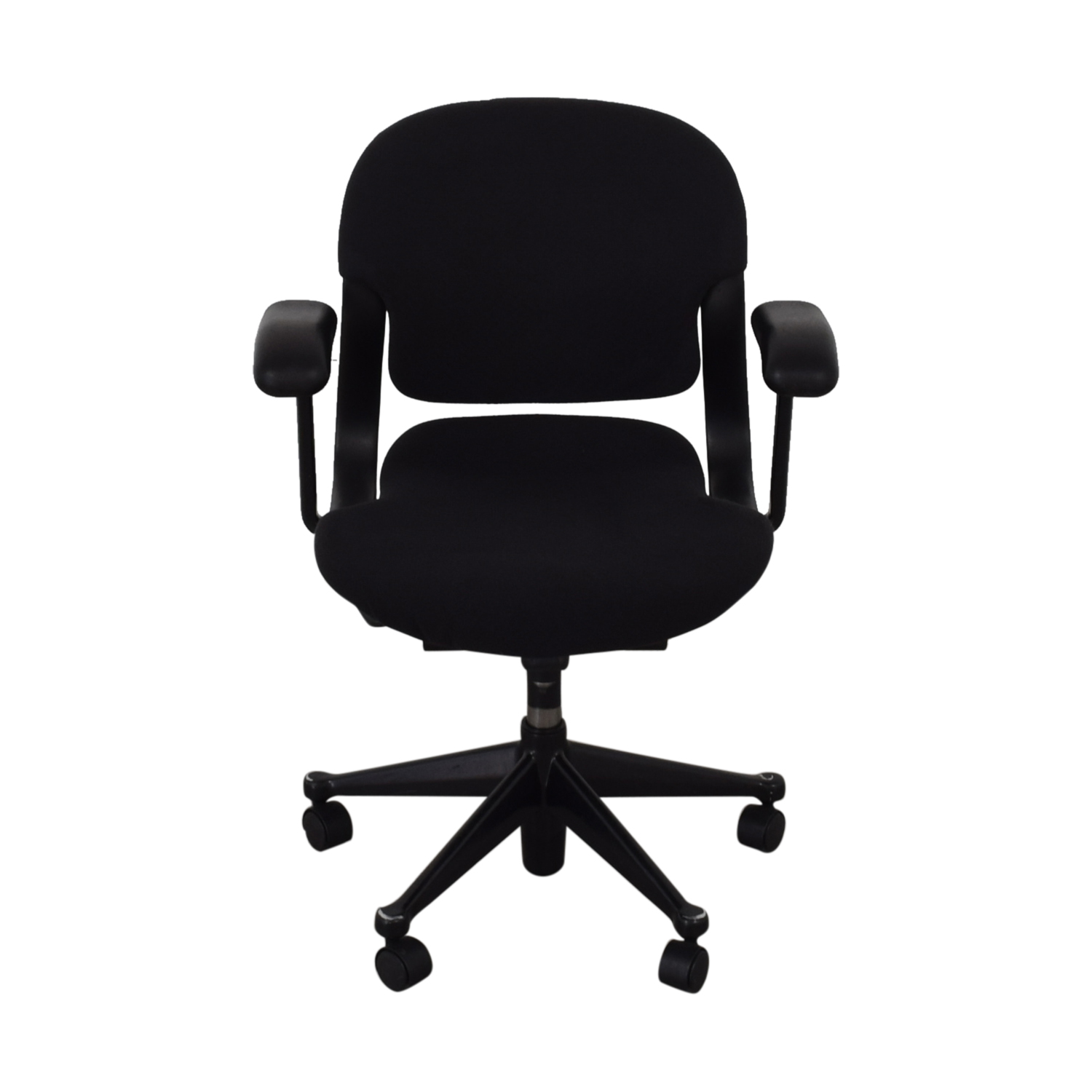 buy Black Office Chair on Castors  Home Office Chairs