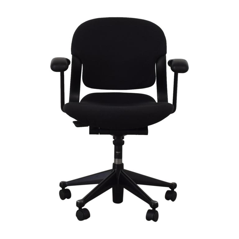 shop  Black Office Chair on Castors online